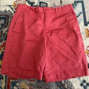 Men's Slim-Fit Flat Front Shorts